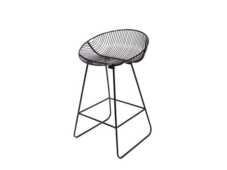 Modern, yet of simple sleekdesign, Rangitoto Barstool suits many interior design styles and will not date after the current trend has passed. Each and everywire is first zinc primed for rust resi…