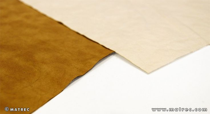 Material made of cellulose fibres and recycled paper