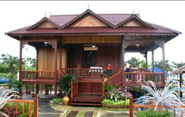 Rumah adat rakyat = bengkulu