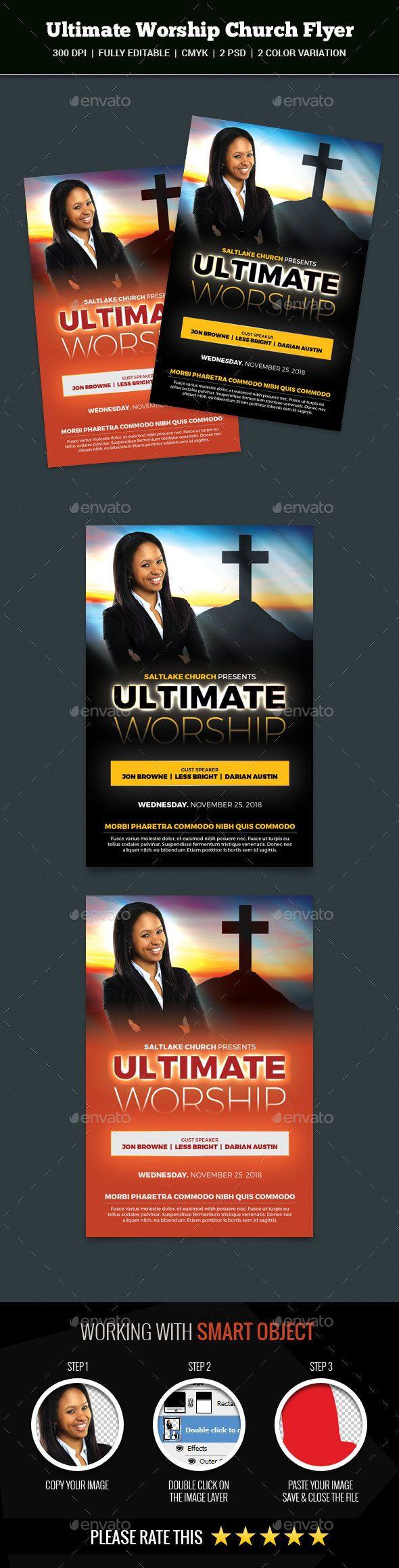 Mejores 1683 imágenes de Church Flyer Design Template en Pinterest ...