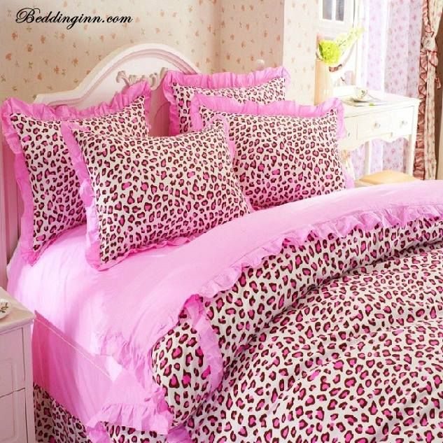 pink cheetah bedding bedding pink girl bedroom sets bedding ideas