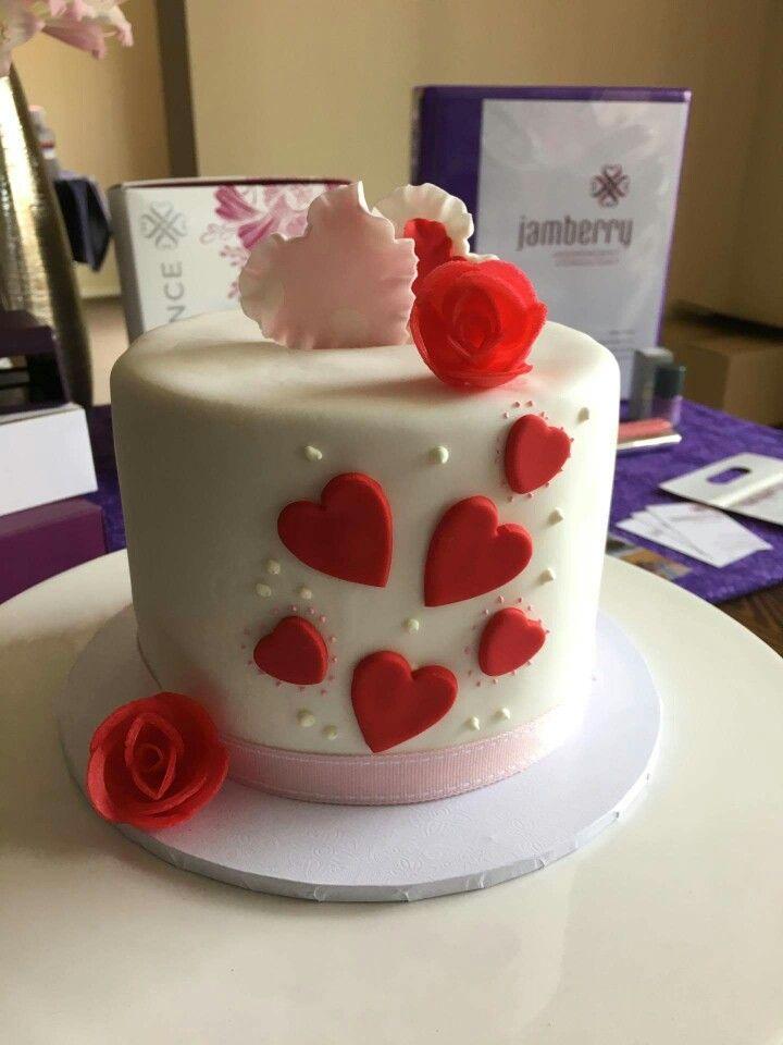 My Valentine day  cake