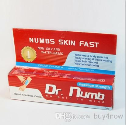 Buy4now 20pcs/pack Dr.Numb 2014 Newest Tattoo Pre-care Cream Anaesthetic Cream Body Piercings Waxing Laser Tattoo Cream Free Shipping