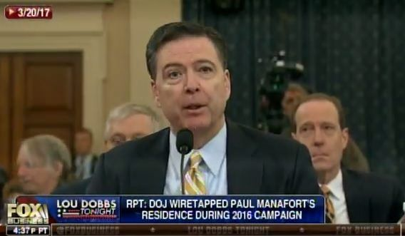More Comey Lies=> James Comey Openly Lies About Deep State Wiretapping Trump Tower (Video)