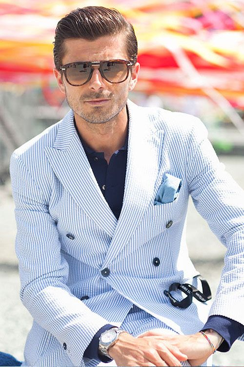 12 Essential Men's Suit Styles 8 - https://www.facebook.com/diplyofficial
