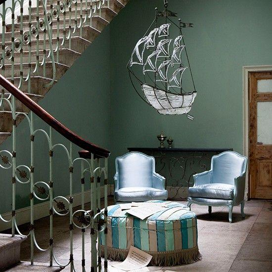 | Entrance halls colours | PHOTO GALLERY | Homes & Gardens | Housetohome.co.uk