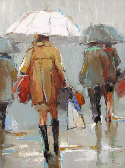 Barbara Flowers - Under the White Umbrella