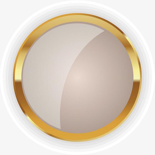 Design Studio Logo Template: Insignia De C Rculo Dorado, Clipart De C Rculo, Oro