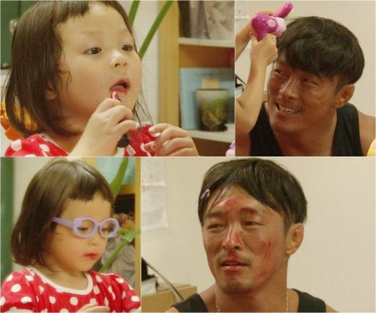 "Chu Sarang Gives Her Father a Makeover on ""Superman Returns"""
