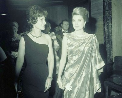 Princess Grace with Maria Callas: Princesses Headpieces, Princesses Grace, Princess Grace, Search, Maria Calla, Monaco, Hsh Princesses