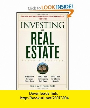 Investing in Real Estate (9781118172971) Gary W. Eldred , ISBN-10: 1118172973  , ISBN-13: 978-1118172971 ,  , tutorials , pdf , ebook , torrent , downloads , rapidshare , filesonic , hotfile , megaupload , fileserve