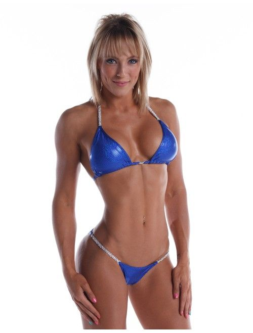 Royal Blue Competition Bikini at www.showstopperbikini.com from $130