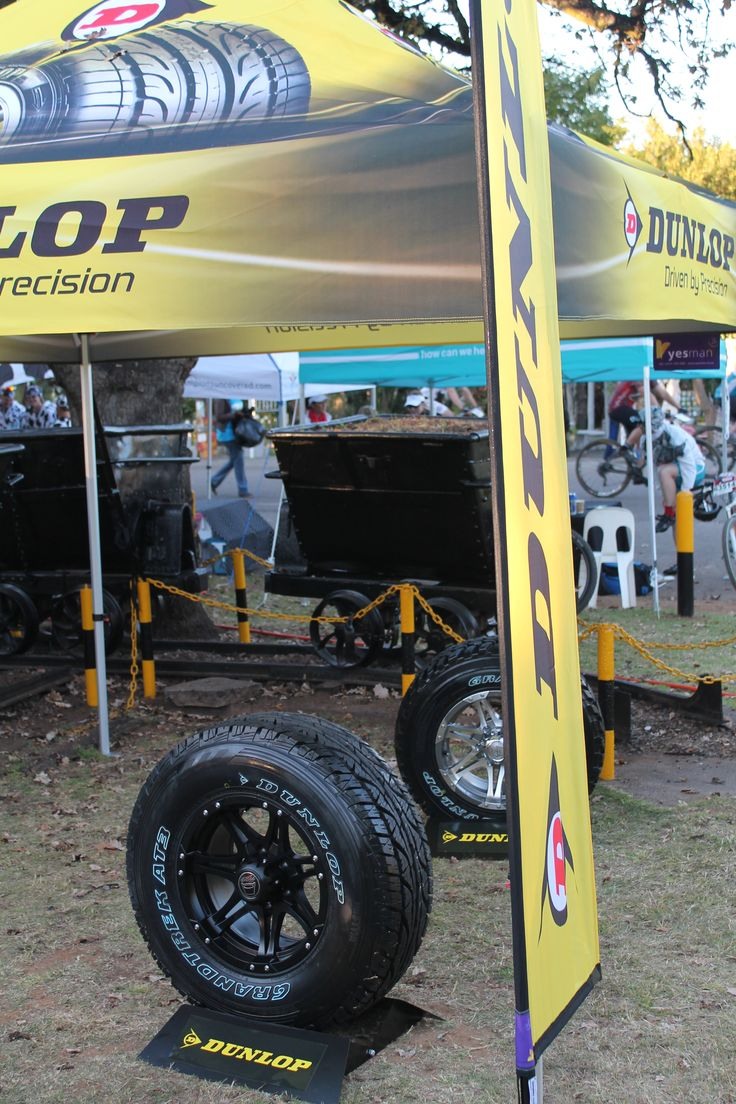 The Dunlop stand