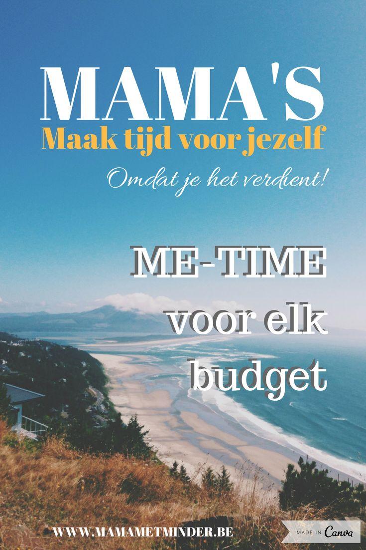 Als mama is het belangrijk om af en toe tijd te maken voor jezelf. Lees mijn tips voor elk budget.