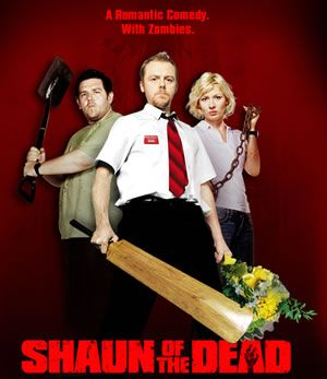 It's as billed:  A romantic comedy with zombies.  But, seriously, one of the funniest movies I've ever seen.  The pub scene with Queen on the jukebox is worth it alone.