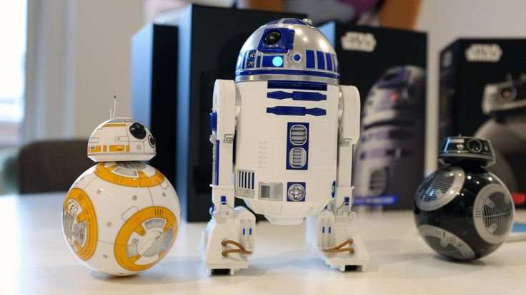 Spheros new Star Wars toys include R2-D2 and a new droid from The Last Jedi