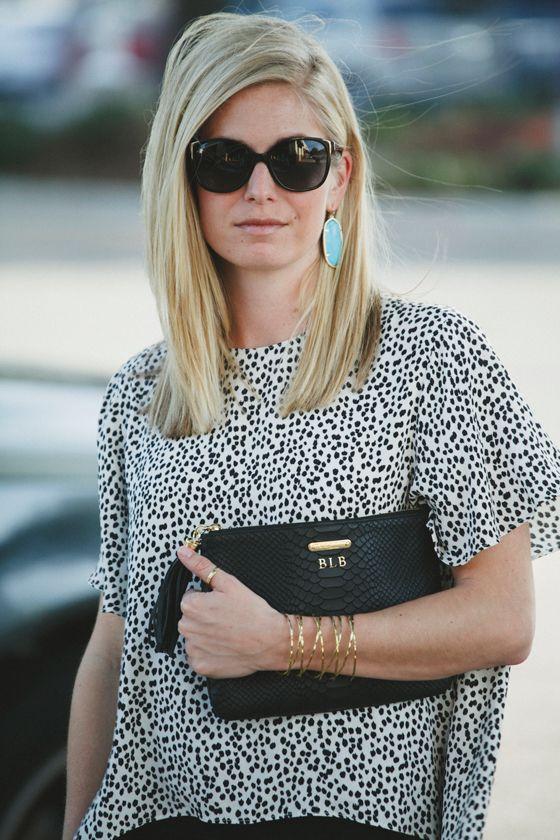 GiGi New York   One Small Blonde Fashion Blog   Black All In One Clutch