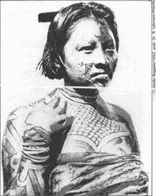 """BLOG do NETUNO: """"Pinturas indigenas e seus significados"""""""