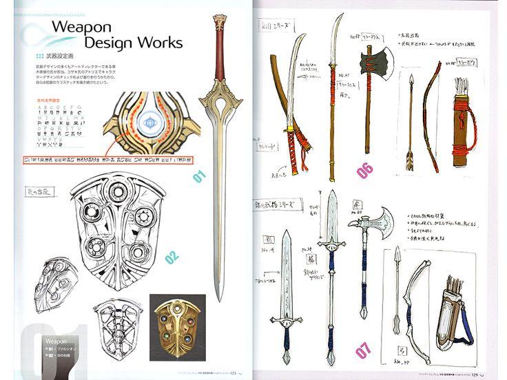 Fire Emblem Awakening Model Sheets Art Book