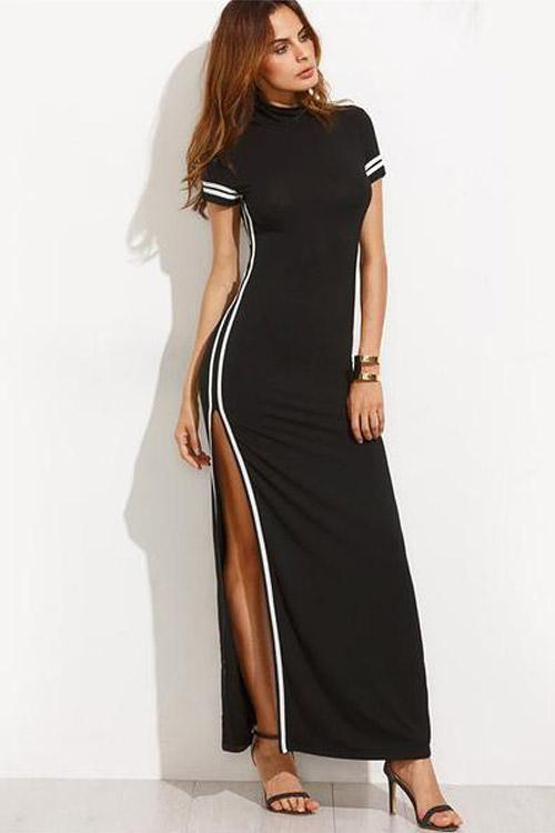 eb56b52e78a25 Yvette Bodycon Maxi Dress | Vestidos cortos Y Largos. | Dresses ...