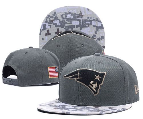 New England Patriots Gray Camo Salute to Service Gray Snapback Hats|only US$6.00 - follow me to pick up couopons.