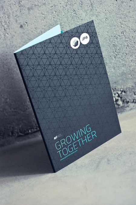 At the end of the day it's about growth as a company by achieving a certain goal decided by the client. Jpa corporate identity by Gen design studio