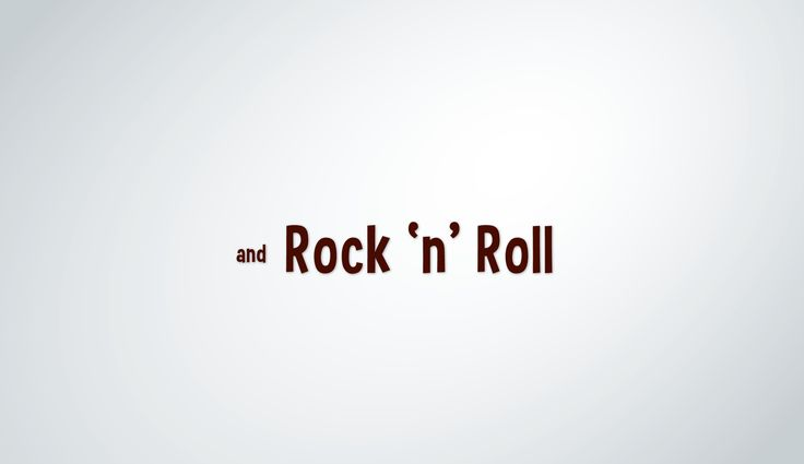 Rock'n'Roll for Life!