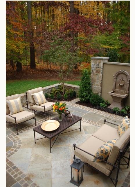 Great Patio; Fountain, Furniture U0026 Accessories!