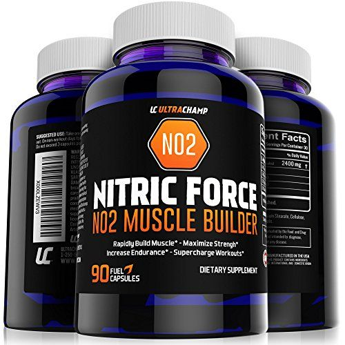 NO2 Nitric Oxide Booster, L-Arginine and L-Glutamine Supplement - Build Big Muscle Mass Fast + Boost Performance With Incredible Pre Workout Pills for Max Gains- Get Ultrachamps Nitric Oxide and See The Results You've Been Looking For. - http://fitness-super-market.com/?product=no2-nitric-oxide-booster-l-arginine-and-l-glutamine-supplement-build-big-muscle-mass-fast-boost-performance-with-incredible-pre-workout-pills-for-max-gains-get-ultrachamps-nitric-oxide-and-see-t