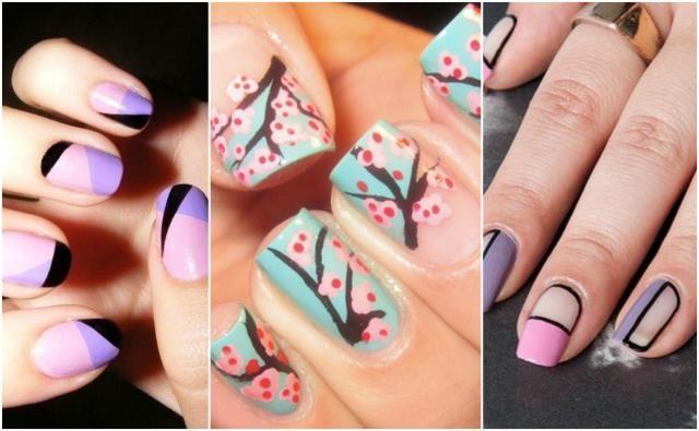 Jak zrobić kolorowe wzory na paznokcie?  [GALERIA INSPIRACJI]