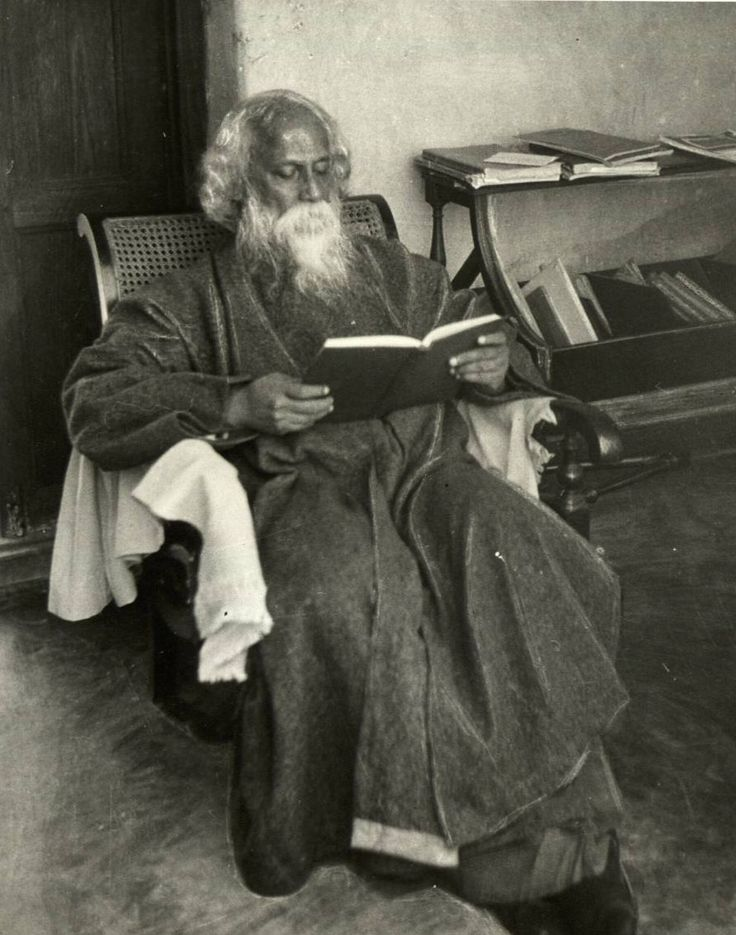 Rabindranath Tagore-great philosopher, author, composer, poet, what more can I say about him