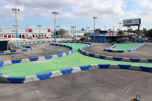 Outdoor Go Karting Track in St. Pete Florida | 727-525-KART (shared via SlingPic)