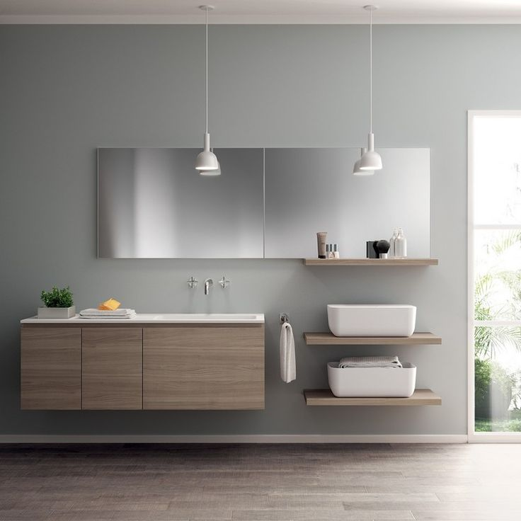 Hochwertig Bad Einrichten Modern Hängeleuchten Stauraum #kitchen #bathroom #modern  #ideas