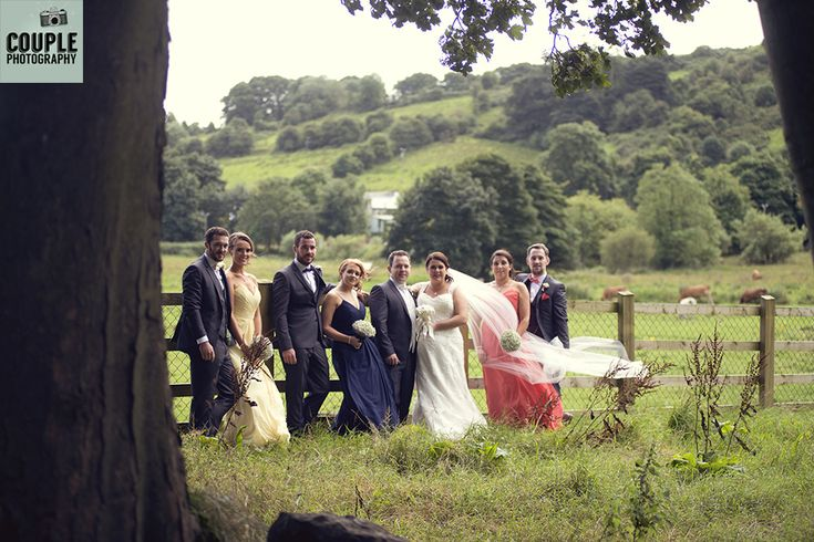 The bridal party. Weddings at Mullingar Park Hotel by Couple Photography.
