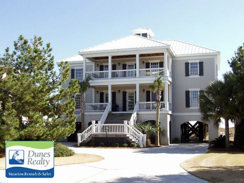 The Beach House U2013 Garden City Beach Rental Bedrooms: 7 | Baths: 5 Full