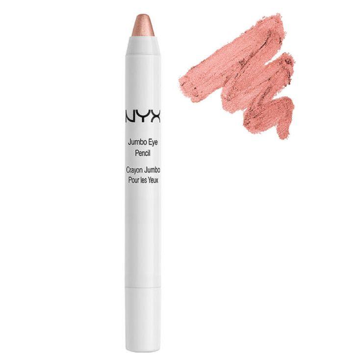Nyx jumbo eye pencil in yogurt. Dupe for Chanel emerveille.