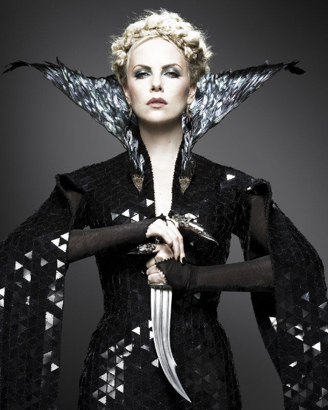 The Evil Queen (Charlize Theron) in Snow White and the Huntsman