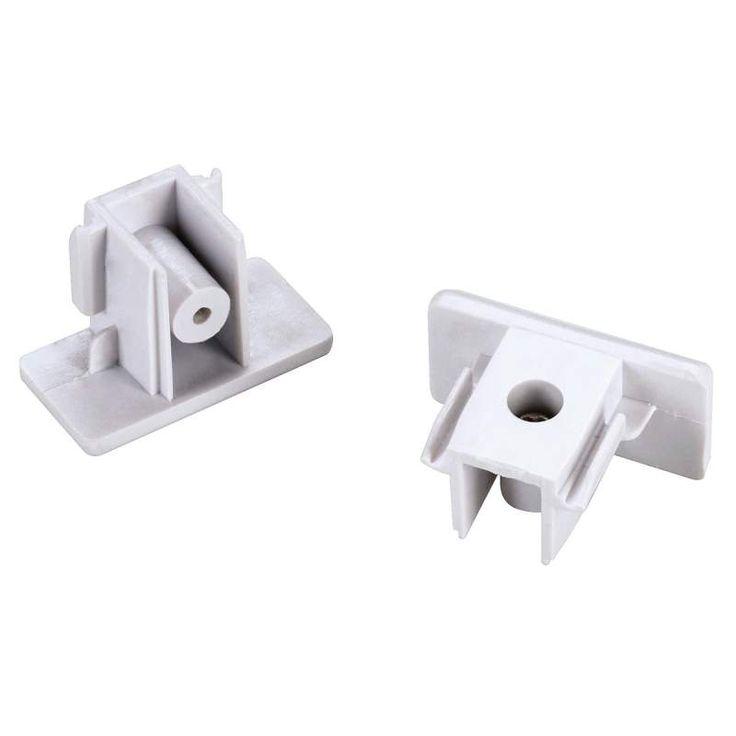 SLV Endkappen für 1-Phasen-HV-Schiene weiß