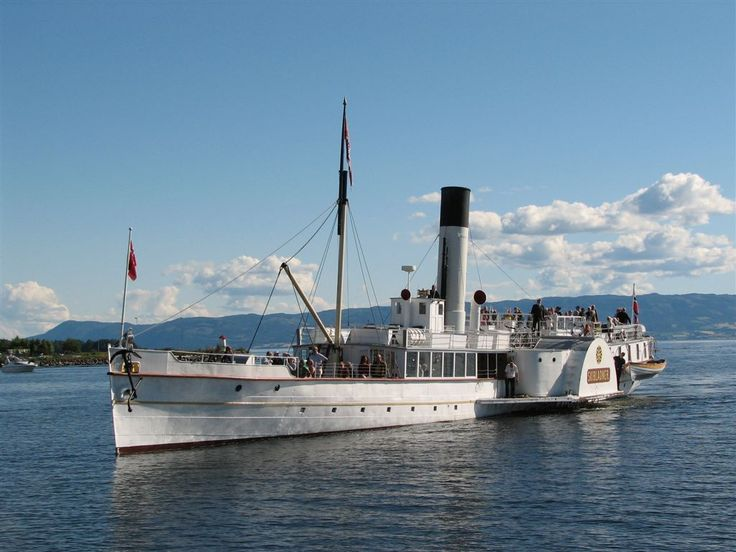 Skibladner - The white swan of Mjøsa, Lillehammer, Norway