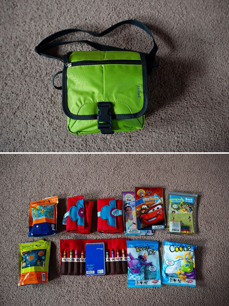 Simple Ideas for Happy Family Traveling - The Restaurant Game Bag