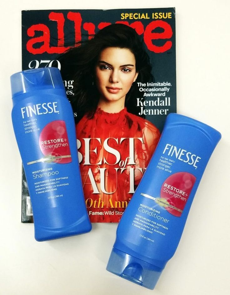 Kendall Jenner love Finesse Shampoo & Conditioner