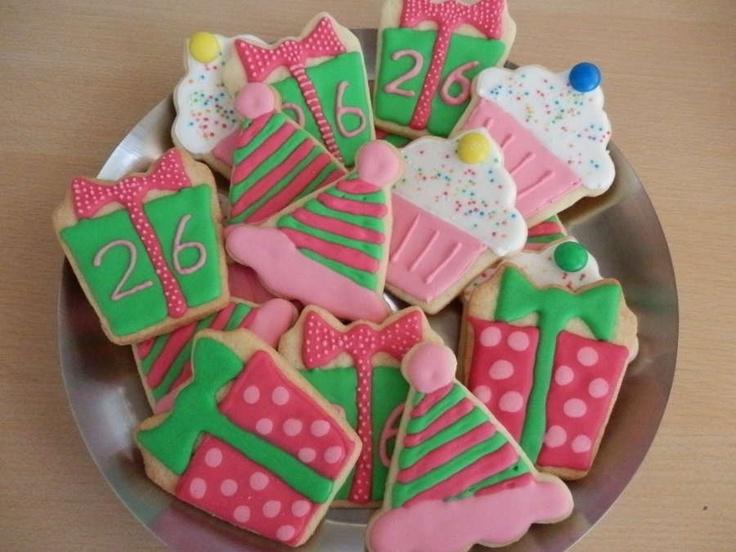 Verjaardags koekjes