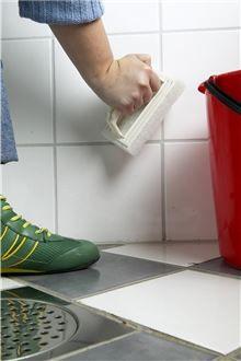 vasking og vedlikehold av flis