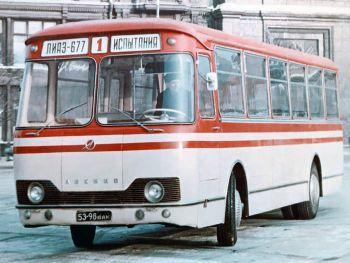 ЛиАЗ 677 Предсерийный '1964–68