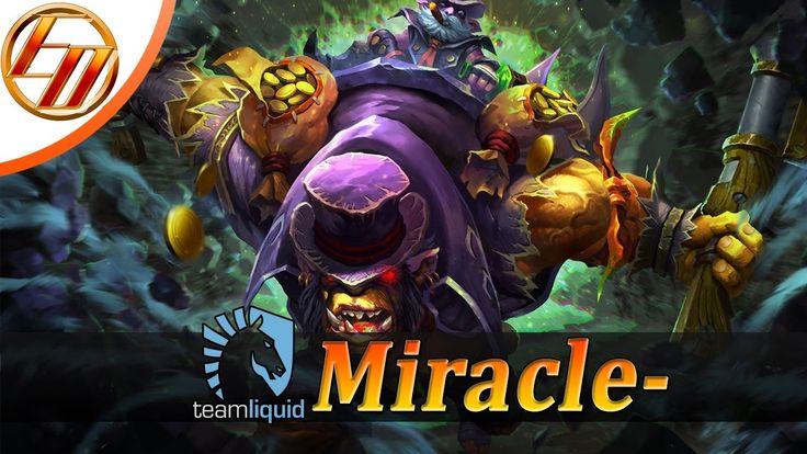 Miracle  Alchemist  Dota 2 Pro Gameplay | Team Liquid