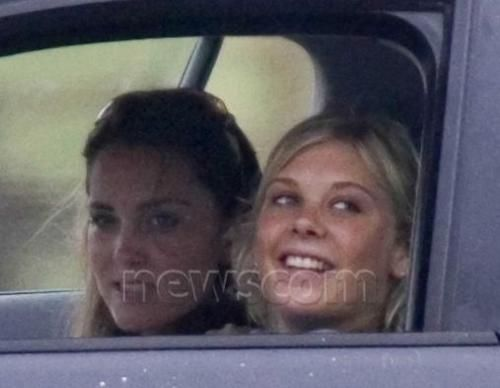 Rarer Kate pics.  Kate and chelsy