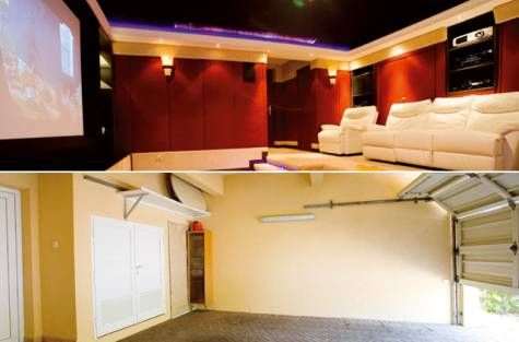 Adding value: garage conversion   Home Theater Ideas & Inspiration ...