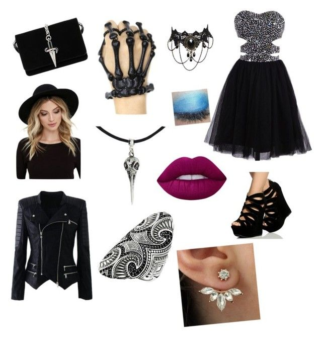 """""""Superwho oc 15"""" by coraline-jones1 ❤ liked on Polyvore featuring Cesare Paciotti, RHYTHM, Thomas Sabo and Lime Crime"""
