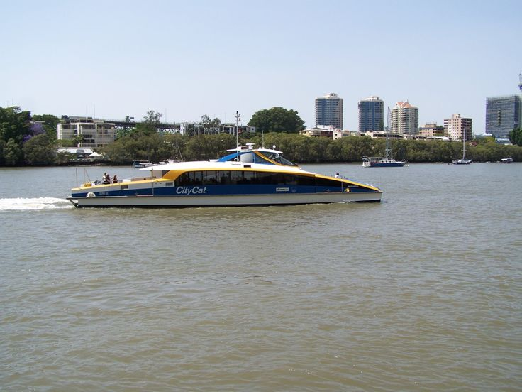 City Cat on the Brisbane River
