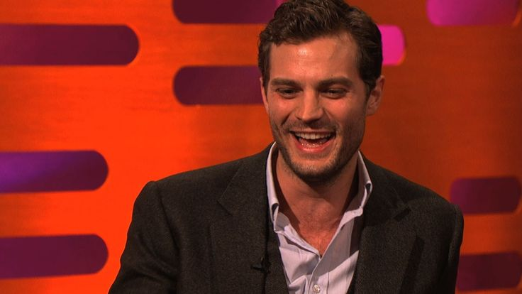 Jamie Dornan's funny walk - The Graham Norton Show: Series 14 Episode 18...  OMG, he is fabulous!!!
